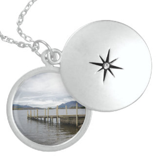 Lake District National Park Round Locket Necklace