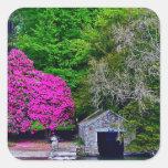 Lake District Square Sticker