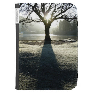 Lake District Tree of Light Case Kindle Keyboard Cases