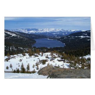 Lake Donner Card