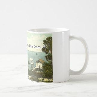 Lake Dora, FL - Boat House Row - 1907 Coffee Mug