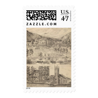 Lake Dunmore House in Salisbury Postage