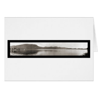 Lake Dunmore, Vermont Photo 1912 Greeting Cards