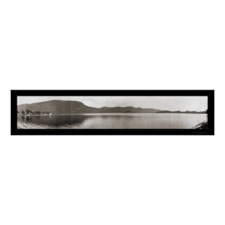 Lake Dunmore, Vermont Photo 1912 Poster
