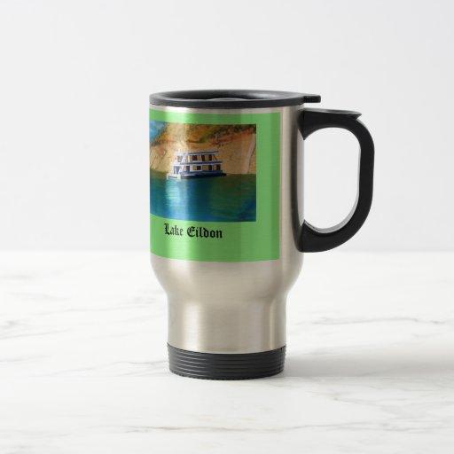 Lake Eildon 15 Oz Stainless Steel Travel Mug