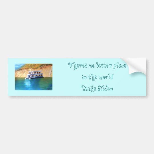 Lake Eildon Bumper Sticker