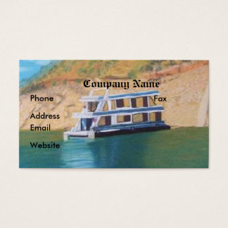 Lake Eildon Business Card