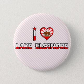 Lake Elsinore, CA Pinback Button