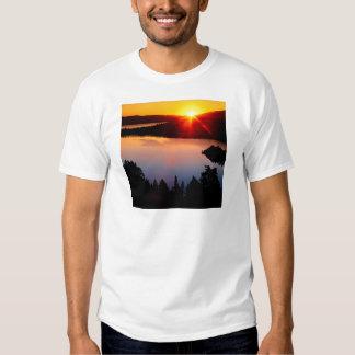 Lake Emerald Bay Tahoe Sunset T-shirt