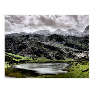 Lake Ercina in Asturias, Spain Postcard