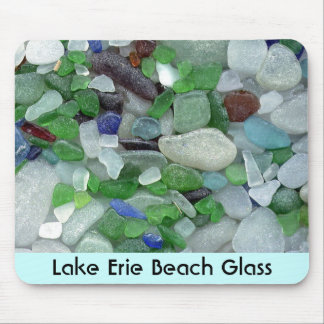 Lake Erie Beach Glass Mouse Pad