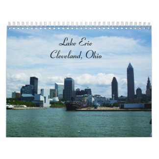 LAKE ERIE, CLEVELAND, OHIO calendar