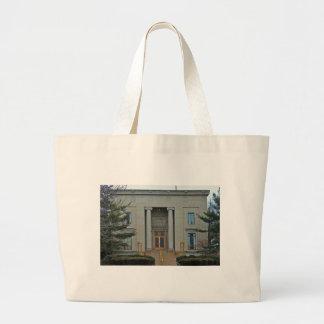 Lake Erie College-Morley Music Hall I Large Tote Bag