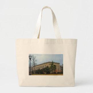 Lake Erie College-Morley Music Hall II Large Tote Bag