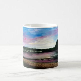 Lake Erie Harbor Painting Mug