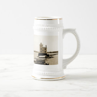 Lake Erie Lighthouse Beer Stein