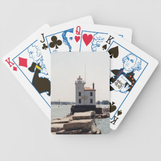 Lake Erie Lighthouse Bicycle Playing Cards