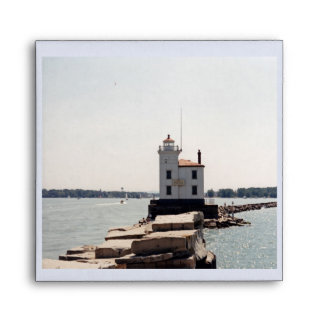 Lake Erie Lighthouse Envelope