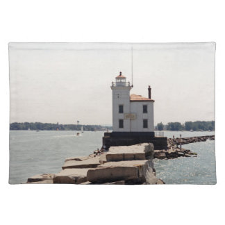 Lake Erie Lighthouse Place Mat