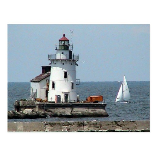 Lake Erie Lighthouse Summer Post Cards