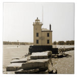 Lake Erie Lighthouse Tiles