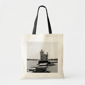 Lake Erie Lighthouse Tote Bag