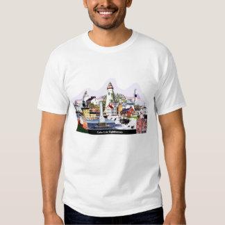 Lake Erie Lighthouses Tshirt