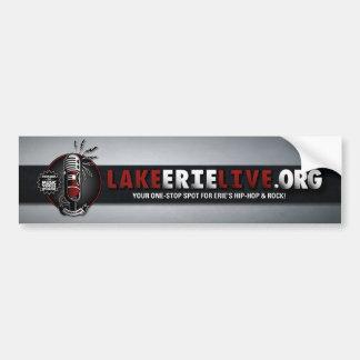 Lake Erie Live Banner Car Bumper Sticker