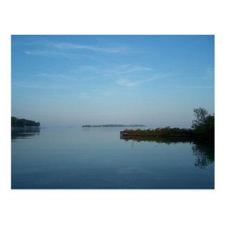 Lake Erie Morning Postcard