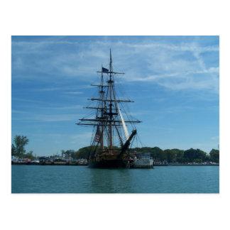 Lake Erie Old Ship 2 Postcard