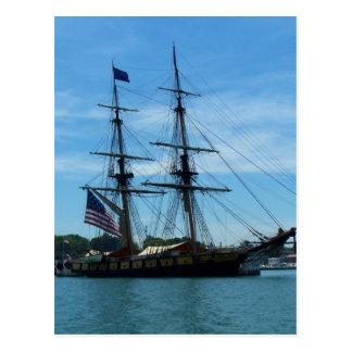 Lake Erie Old Ship Postcard