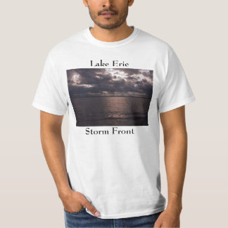 Lake Erie Storm Front view. T Shirt