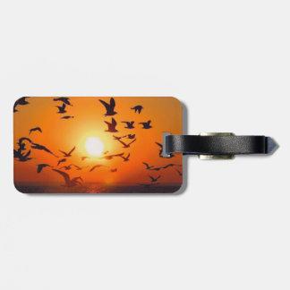 Lake Erie Sunset Luggage Tags