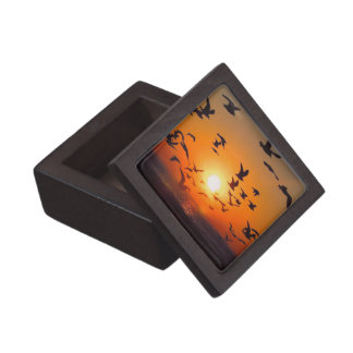 Lake Erie Sunset Premium Jewelry Boxes