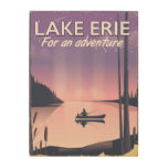 Lake Erie travel poster