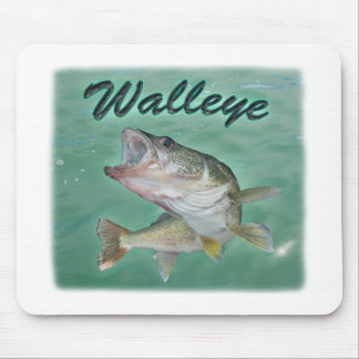 Lake Erie Walleye Mouse Pad