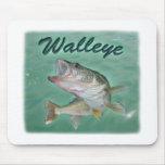 Lake Erie Walleye Mousepad