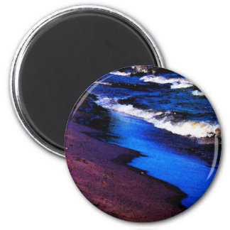 Lake Erie Watercolor Refrigerator Magnets
