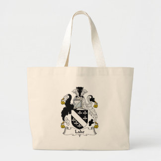 Lake Family Crest Tote Bags