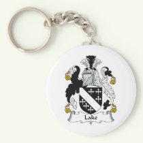 Lake Family Crest Keychain