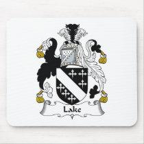 Lake Family Crest Mousepad