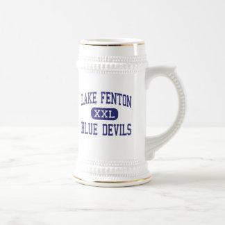 Lake Fenton - Blue Devils - High - Linden Michigan 18 Oz Beer Stein