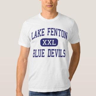 Lake Fenton - Blue Devils - High - Linden Michigan T-shirts