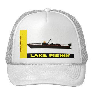"""Lake Fishin"" Mesh Ballcap Trucker Hat"