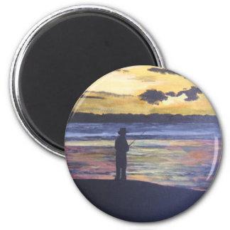 Lake fishing magnet