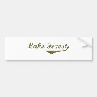 Lake Forest  Revolution t shirts Car Bumper Sticker