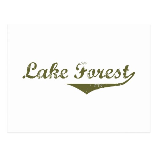 Lake Forest  Revolution t shirts Post Cards