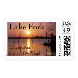 Lake Fork Postage Stamp