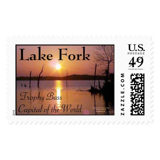 Lake Fork Postage Stamp
