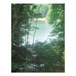 Lake Framed by Trees Letterhead